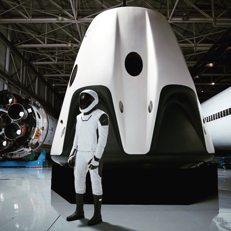17 - Mars spacesuit from Space X First full-body photo of SpaceX's spacesuit