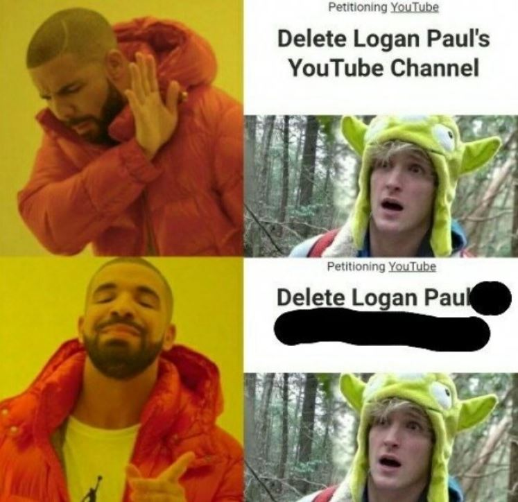 logan paul now and then