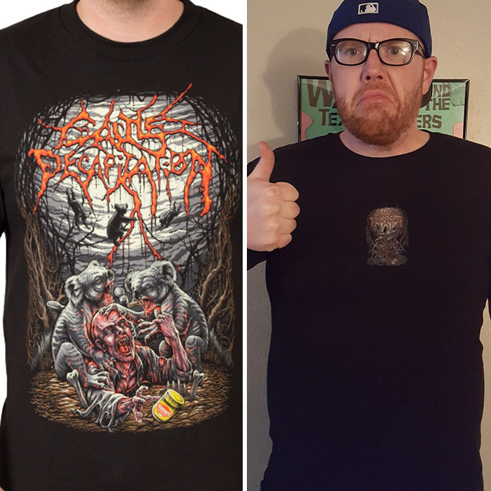 12 - Shirt Online Vs. Reality...