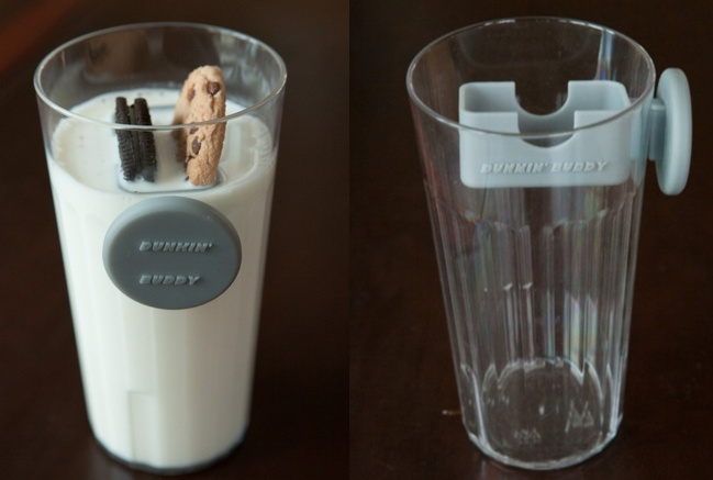 10 - This magnetic cookie dunker is engineering at its best.