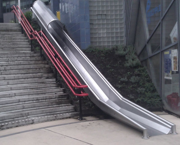 5 - A slide instead of stairs
