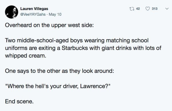 12 - 25 of the Strangest Things People Overheard in Public