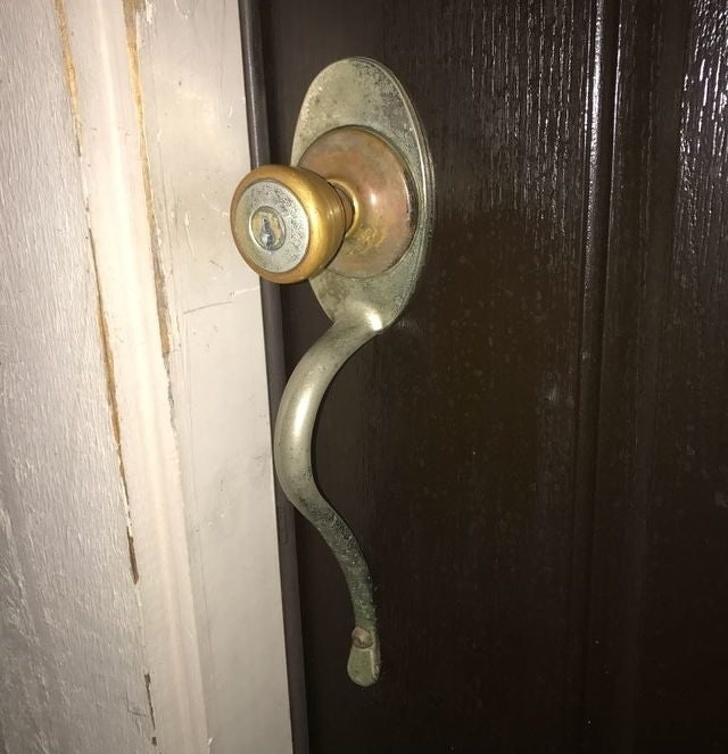 13 - Just a door handle. Wait, what?