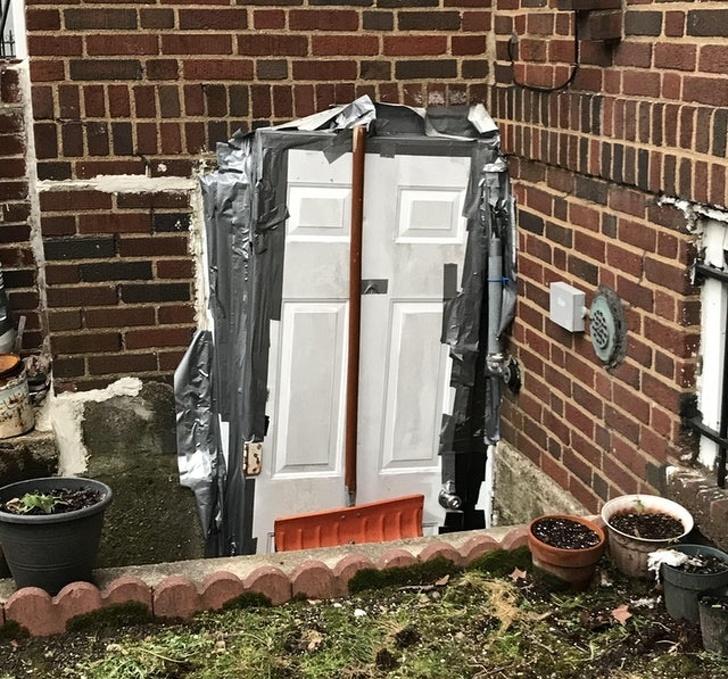 16 - The door almost didn't fit...