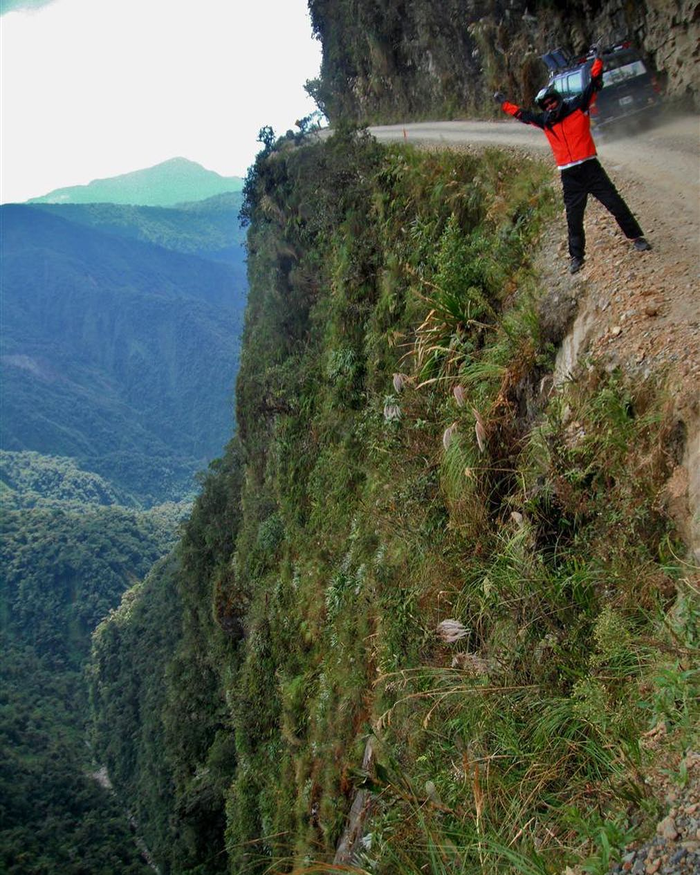 15 - The death road in Bolivia