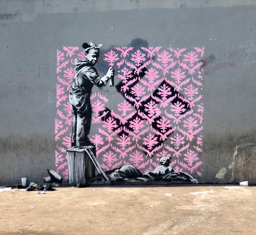 10 - New Banksy in Paris