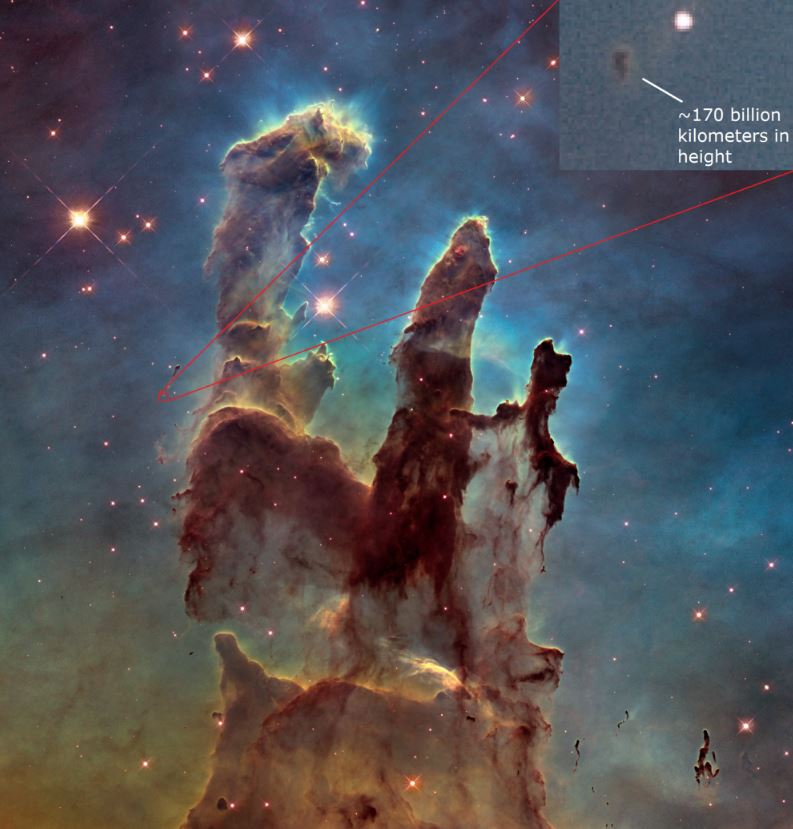 13 - The amazing scale of the Pillars of Creation