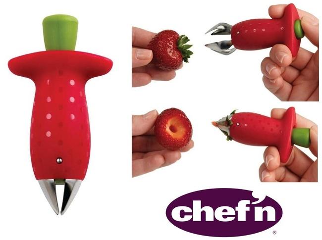 10 - A strawberry stem remover