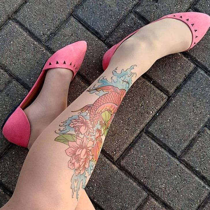 25 - Tattoo tights