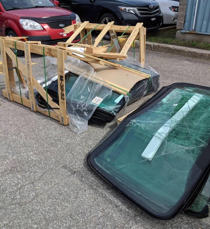 16 - That was 20 new windshields.