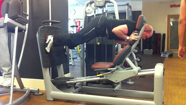 20 - 38 weirdest things spotted at the gym