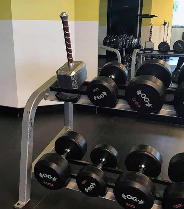 31 - 38 weirdest things spotted at the gym