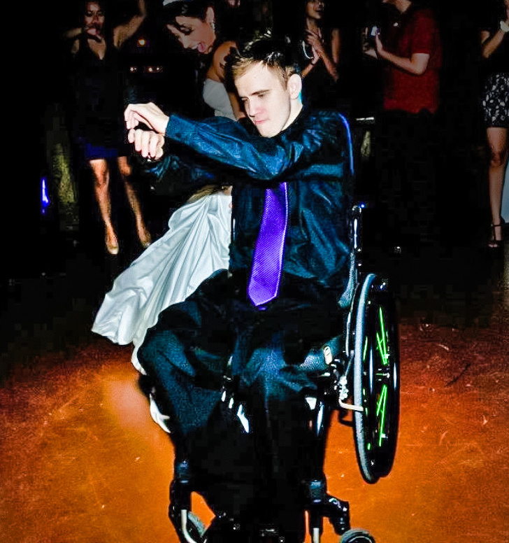 """8 - """"My doctor said I'll never walk again. He didn't mention anything about dancing."""""""