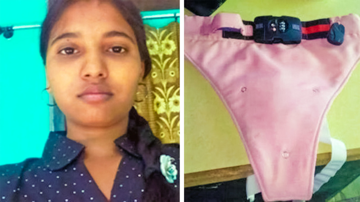 15 - GPS and a 4-digit lock are included in these anti-rape underwear invented by a rape victim.