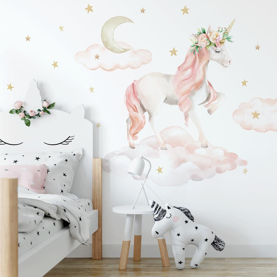 6 - Make your room magical with wall murals.