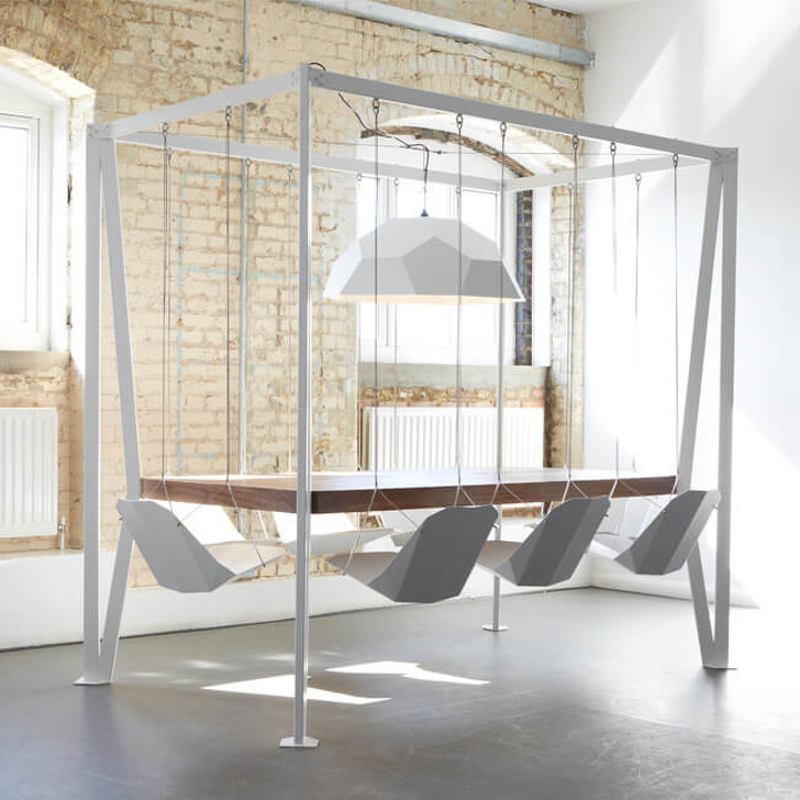 9 - Awake the child inside you with this swing table set