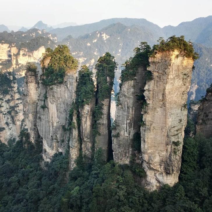 14 - Zhangjiajie National Forest Park, China.