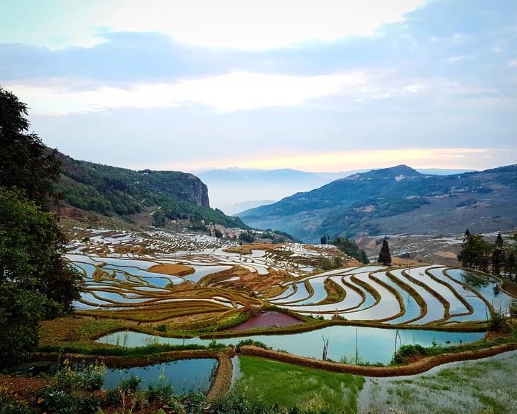 19 - Yuanyang Rice Terraces, China.