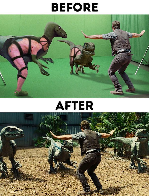 30 - 30 before and after special effects scenes