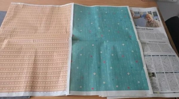 15 - Newspapers that double as wrapping paper.