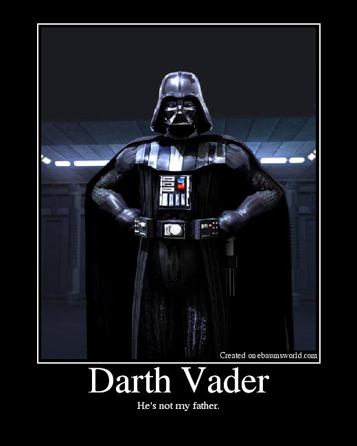 Darth vader facepalm
