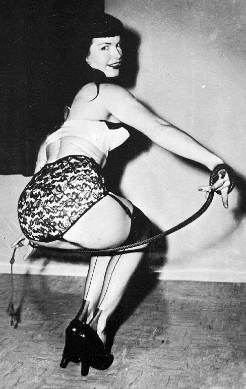 Betty Page Bondage 57
