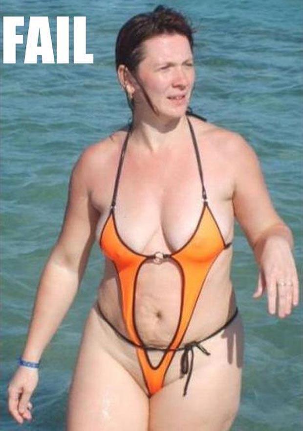 Mature women tan lines