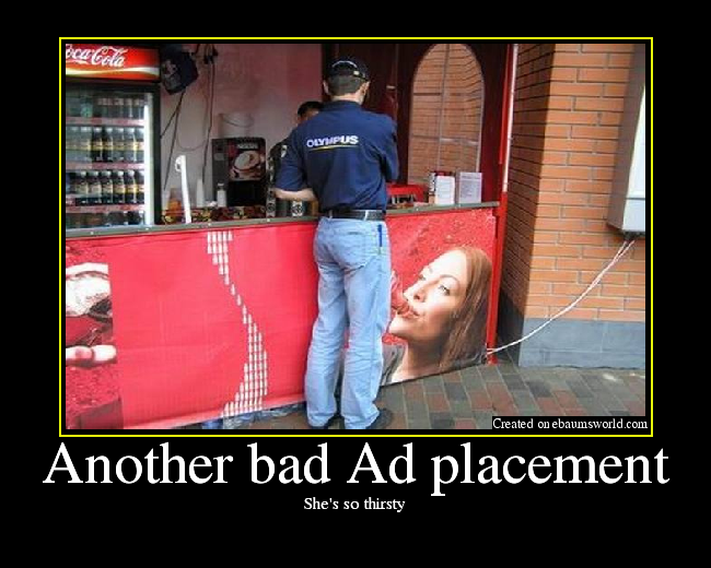 another bad ad placement