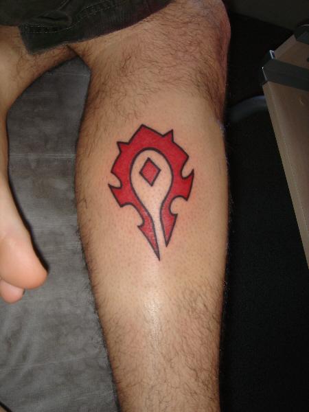 tatouage world of warcraft