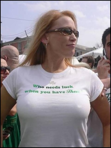 Milf tight shirt