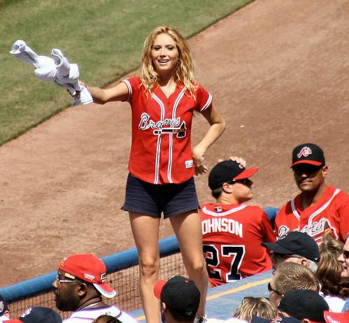 Accept. The Female naked at baseball hame