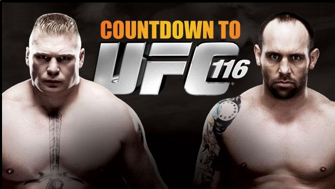 Countdown to UFC 116 - Gallery...