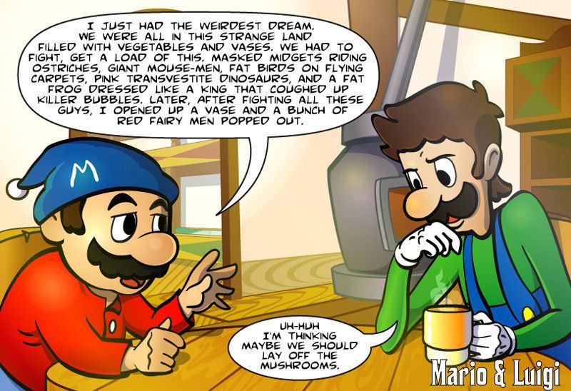 funny mario and luigi jokes - photo #21