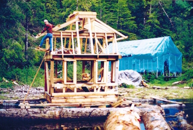 2 - This is the beginning of the project, back in 1991.