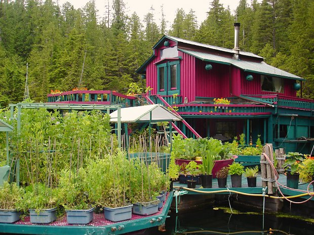 10 - Canadian Couple Built Their Own Self-Sustaining Island