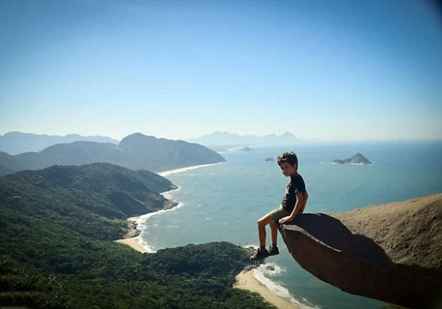 9 - People believed this until someone found the place in Pedra Branca, Brasil.
