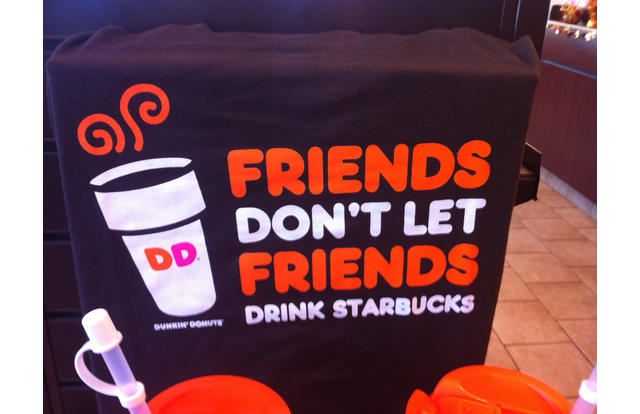 29 - Dunkin' Donuts anti-Starbucks advert in Michigan New Hampshire