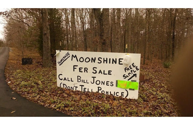 46 - Sign in Virginia for moonshine but don't tell police Virginia