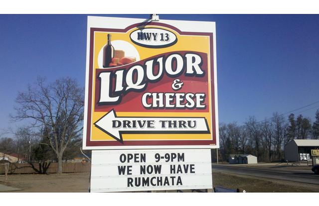 49 - Liquor and Cheese Drive Thru in Wisconsin Wisconsin