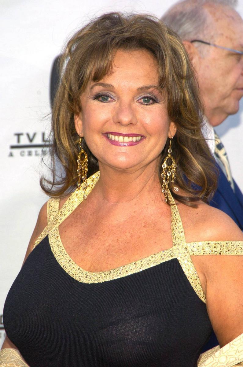 15 -  Dawn Wells at the 2004 TV Land Awards. She was 66 in this picture and looked so much like her character from Gilligan's Island still. She was Miss Nevada in 1959, and competed for the 1960 Miss America pageant. This helped start her career the following year, which was mostly in TV. Despite numerous roles even to this day, she is never remembered for anything else but her 1 iconic character Mary Ann.