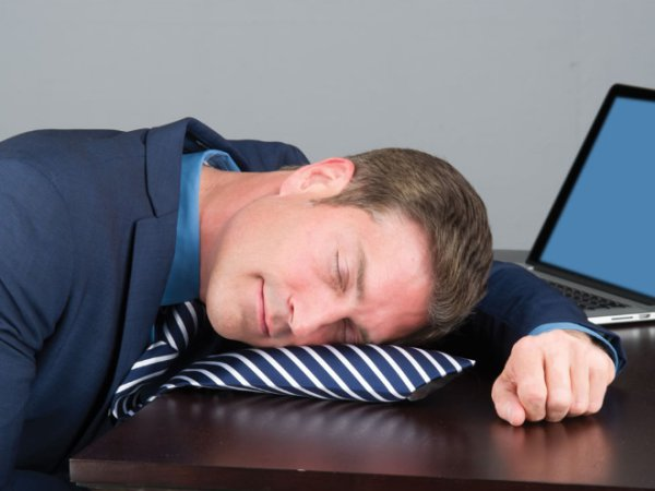 4 - This inflatable pillow tie. If you�re already sleeping at work make that experience more comfortable.