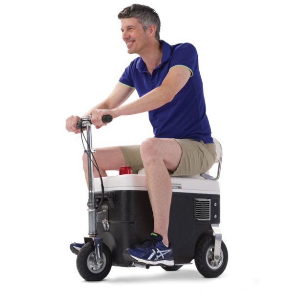 13 - 12 MPH cooler. Carry your cooler to the beach? How about ride your cooler to the beach!