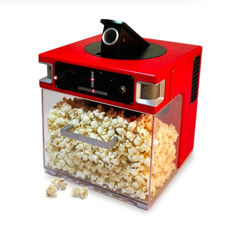 20 - A voice-activated popcorn maker that shoots popcorn directly into your mouth. I WANT THIS.