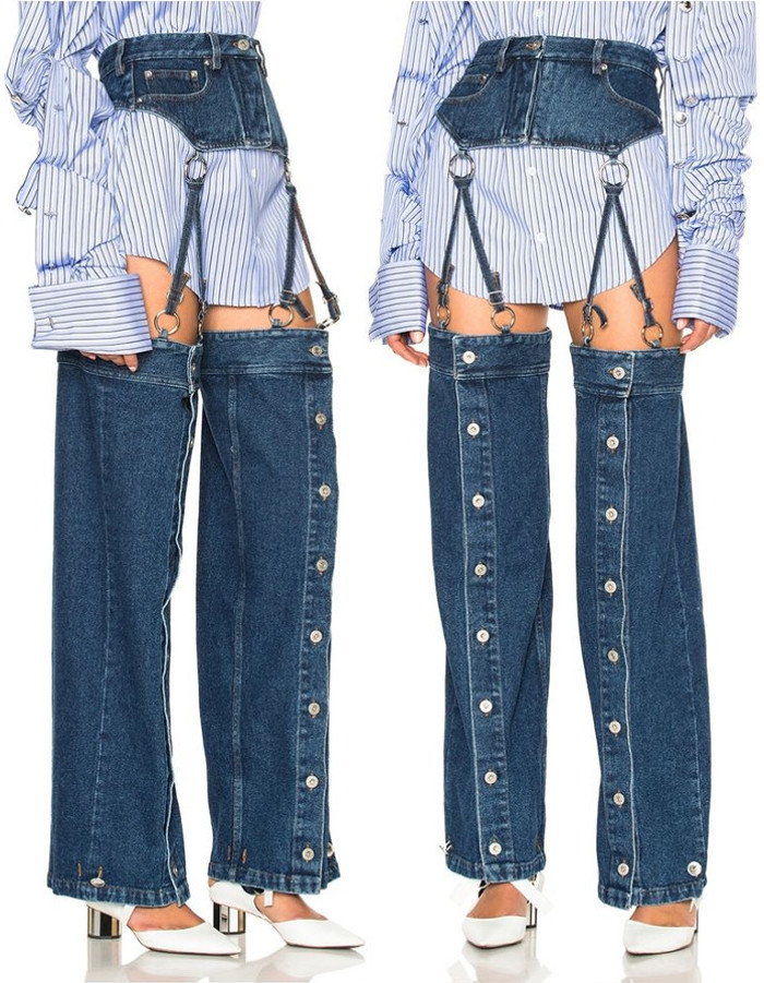 2 - 20 Weird Types Of Jeans That You Probably Didn't Know Existed