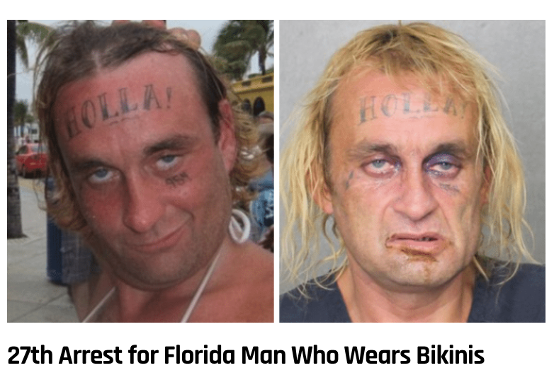 1 - Massive Tale Of The Fabled Florida Man's Exploits