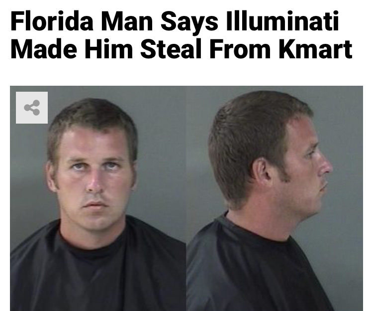 19 - Massive Tale Of The Fabled Florida Man's Exploits