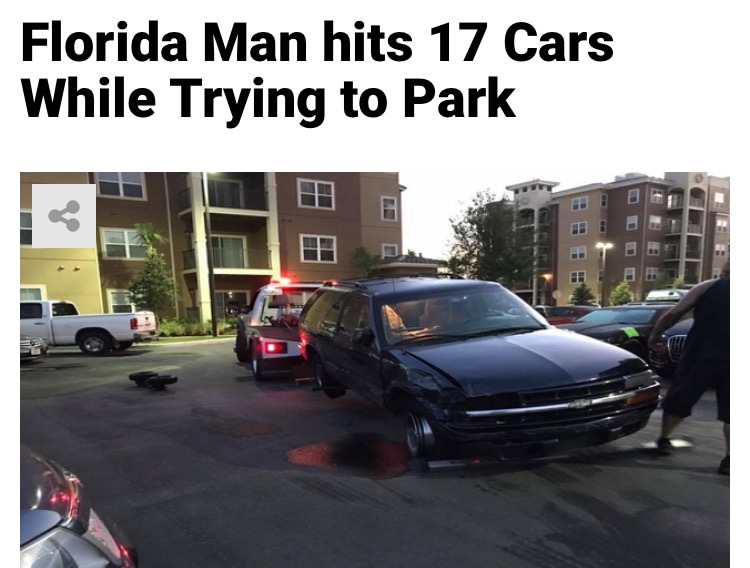 24 - Massive Tale Of The Fabled Florida Man's Exploits