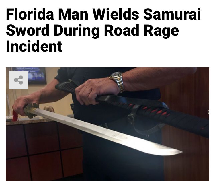 29 - Massive Tale Of The Fabled Florida Man's Exploits
