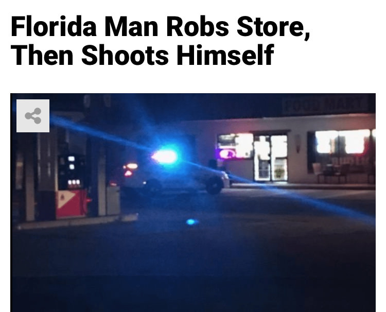 30 - Massive Tale Of The Fabled Florida Man's Exploits