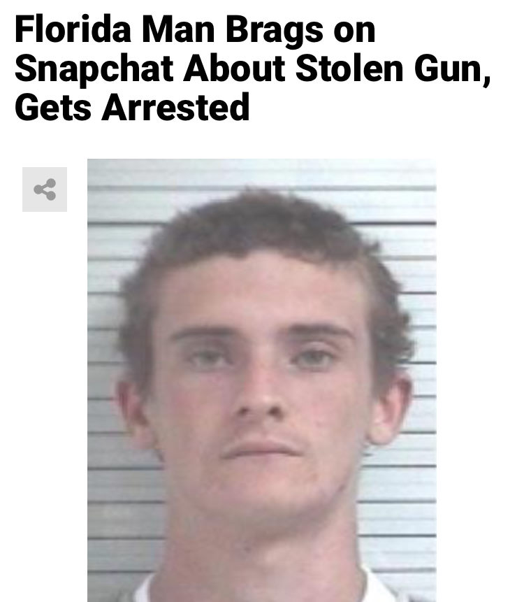 34 - Massive Tale Of The Fabled Florida Man's Exploits